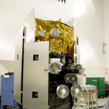 ICESat Undergoing Final Processing at Astrotech's Facility
