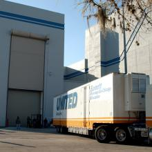MESSENGER Arrives at Astrotech's Florida Facility