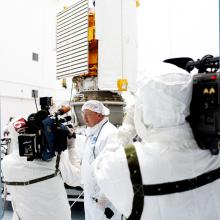 MESSENGER Media Day at Astrotech