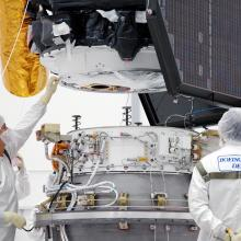 During the Spacecraft Lift