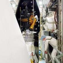 Deep Impact During Encapsulation at SLC-17