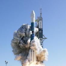 Launch of Deep Impact On-board a Delta II Rocket January 12, 2005