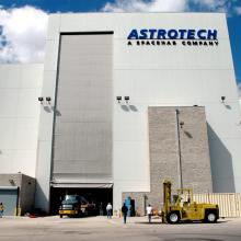 Arriving at Astrotech's Facility for Processing