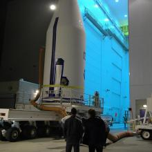 GOES-N Returning to Astrotech for Further Inspections and Testing