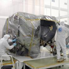 Removing Protective Covers from the Spacecraft