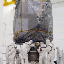 Preparing the Satellites for Transport to the Launch Pad