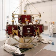 Technicians Working on THEMIS