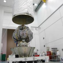 THEMIS Preparing to be Transported to the Launch Pad