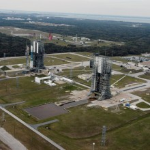 Aerial View of Pad 17-B