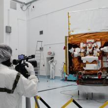 Media Day at Astrotech's Florida Facility