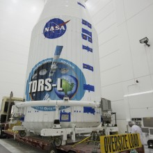 TDRS-L Ready for Transport to the Launch Pad