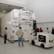 NASA's Kepler Spacecraft Arriving at Astrotech's Florida Facility