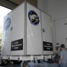 LRO Arriving at Astrotech's Florida Facility