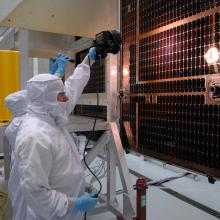 LRO Solar Array Inspection