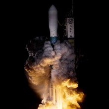 Liftoff of a United Launch Alliance Delta II Rocket, Carrying Kepler for NASA
