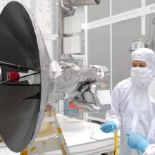 LRO Spacecraft During Instrument Integration and Testing