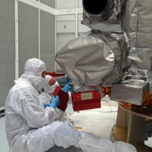 Technicians Inspecting LRO