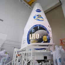 LRO/LCROSS Successfully Encapsulated