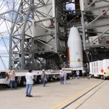 GOES-O Arrives at Cape Canaveral Air Force Station