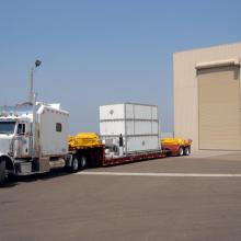 WISE Arriving at Astrotech's Facility