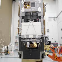 STSS Demo in One of Astrotech's Clean Rooms