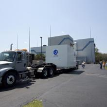 JUNO Arrives at Astrotech's Florida Facility for Final Processing