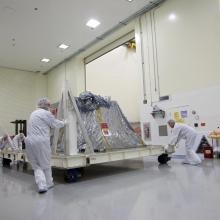 Preparing the GRAIL Spacecraft for Processing