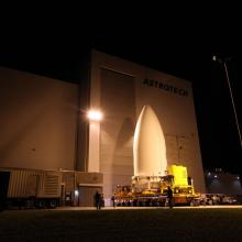 JUNO Leaves Astrotech's Facility