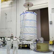 GRAIL Ready to Leave Astrotech's Facility