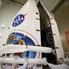 Encapsulating the RBSP Spacecraft