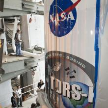 TDRS-K Stacked Atop an Atlas V Rocket