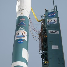 OCO-2 Ready for Launch Atop a Delta II Rocket