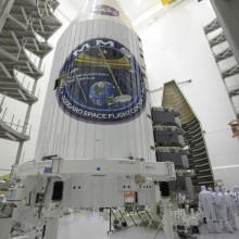 Encapsulation of the Four MMS Spacecraft