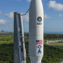 Atlas V Rocket Carrying MUOS-5 Ready for Launch