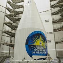 Both Payload Fairing Halves Protect the Spacecraft During Launch