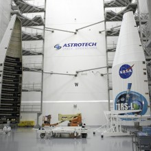 The Atlas V Payload Fairings That Will Encapsulate the Satellite
