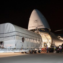 AEHF-3 Being Delivered to Cape Canaveral Air Force Station