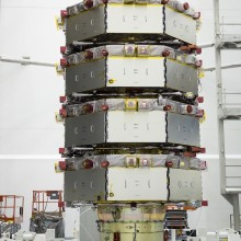 Media Day Prior to Ecapsulation of the MMS Satellites