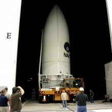 MUOS-2 Leaving Astrotech's Florida Facility