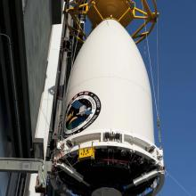 Lifting AEFH-1 at the Pad