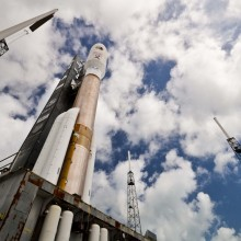 Atlas V Rocket with AEHF-2 Ready for Launch