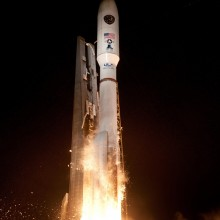Launch of the United Launch Alliance Atlas V Rocket Carrying AEHF-3 for the United States Air Force