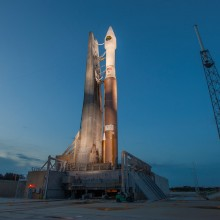 CLIO Ready Atop an Atlas V Rocket