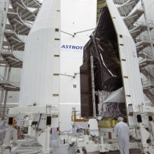 Encapsulation of the Morelos-3 Satellite