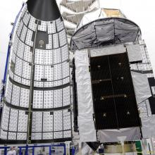 MUOS-1 Satellite Before Encapsulation