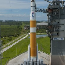 United Launch Alliance Delta IV Rocket Ready for Launch