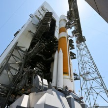 ULA's Delta IV Rocket Ready with WGS-5