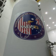 WGS-6 Logo on the Payload Fairing