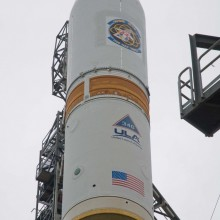 WGS-3 Atop a Delta IV Rocket