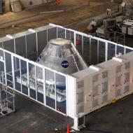 MFS in NASA's Vehicle Assembly Building (Credit: NASA)